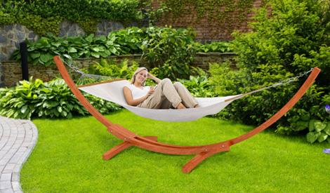 Eine Hängematte Im Garten - Echt Genial Hangematten Mit Gestell Garten